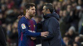 El mensaje de Messi tras la salida de Valverde del Barcelona: Gracias por todo, míster