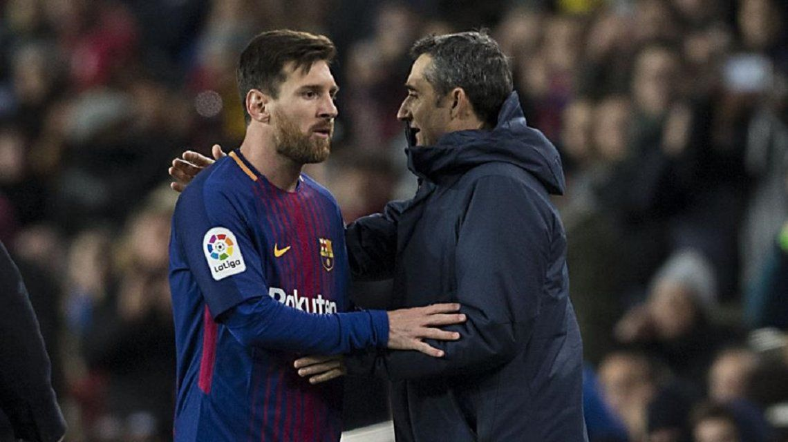 Valverde habló sobre la presunta pelea con Messi en el vestuario tras la derrota ante Roma
