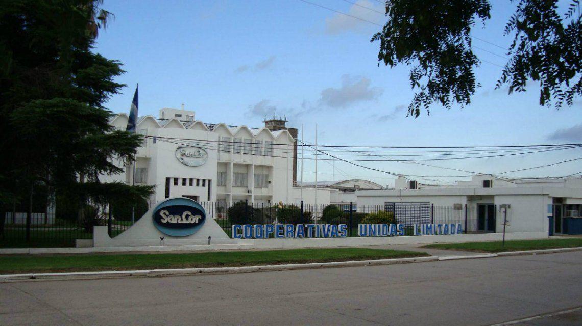 La planta de SanCor en Sunchales