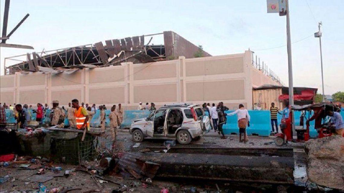 Atentado en un estadio de fútbol en Somalia