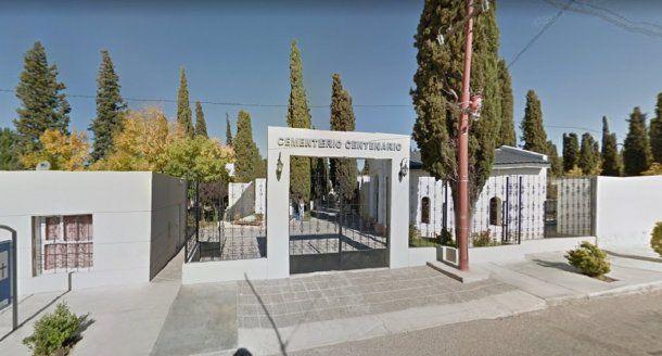 Cementerio Centenario en Neuquén