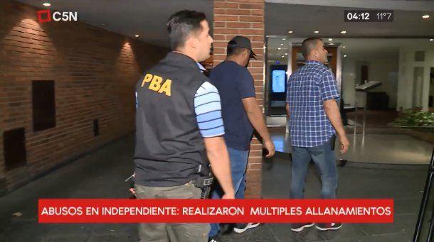 Allanamientos por abusos en Independiente