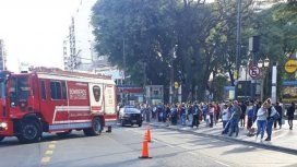 Accidente en Plaza Flores
