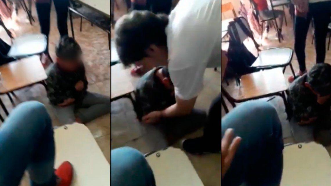 Así agredieron a un nene de 12 años en el colegio