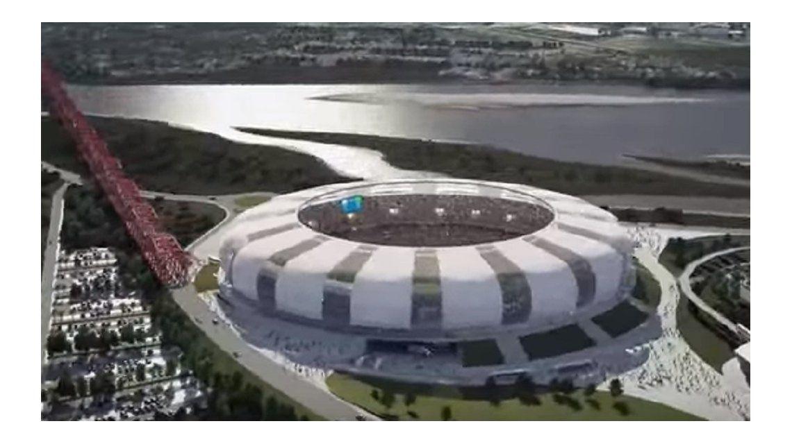 Así será el nuevo estadio de Santiago del Estero, posible sede del Mundial 2030
