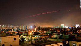 Los tres países occidentales descargaron más de un centenar de misiles sobre Siria