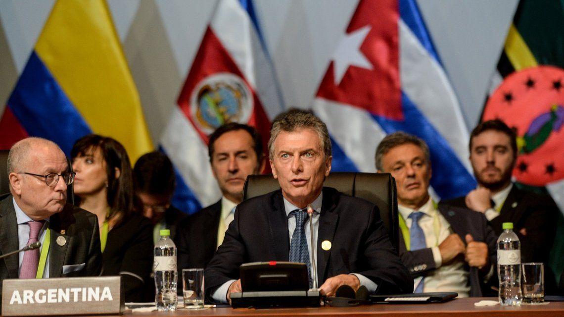 Cumbre de las Américas: tras el ataque a Siria, Macri condenó el uso de armas químicas