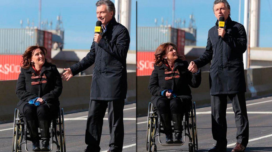 Gabriela Michetti y Mauricio Macri