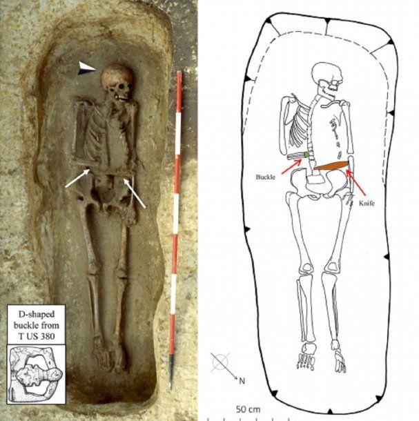El hombre vivió y murió en algún momento del siglo VI