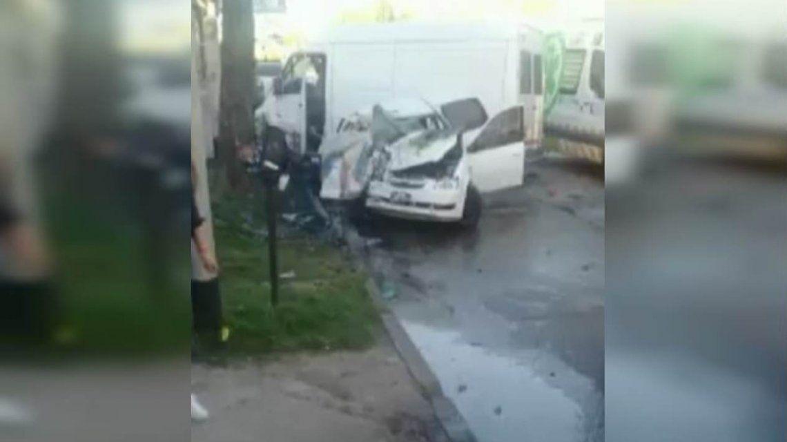 VIDEO: Así fue el choque fatal en Lanús en el que murieron dos mujeres