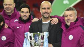 El Manchester City salió campeón de la Premier League gracias a la derrota del United