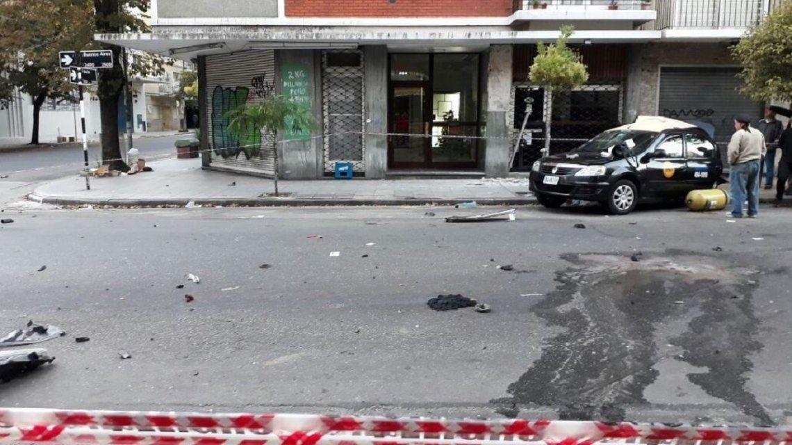 Robó un auto y mató a un taxista - Crédito: 0223