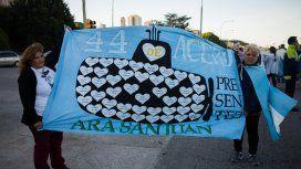 Familiares de los tripulantes del submarino ARA San Juan