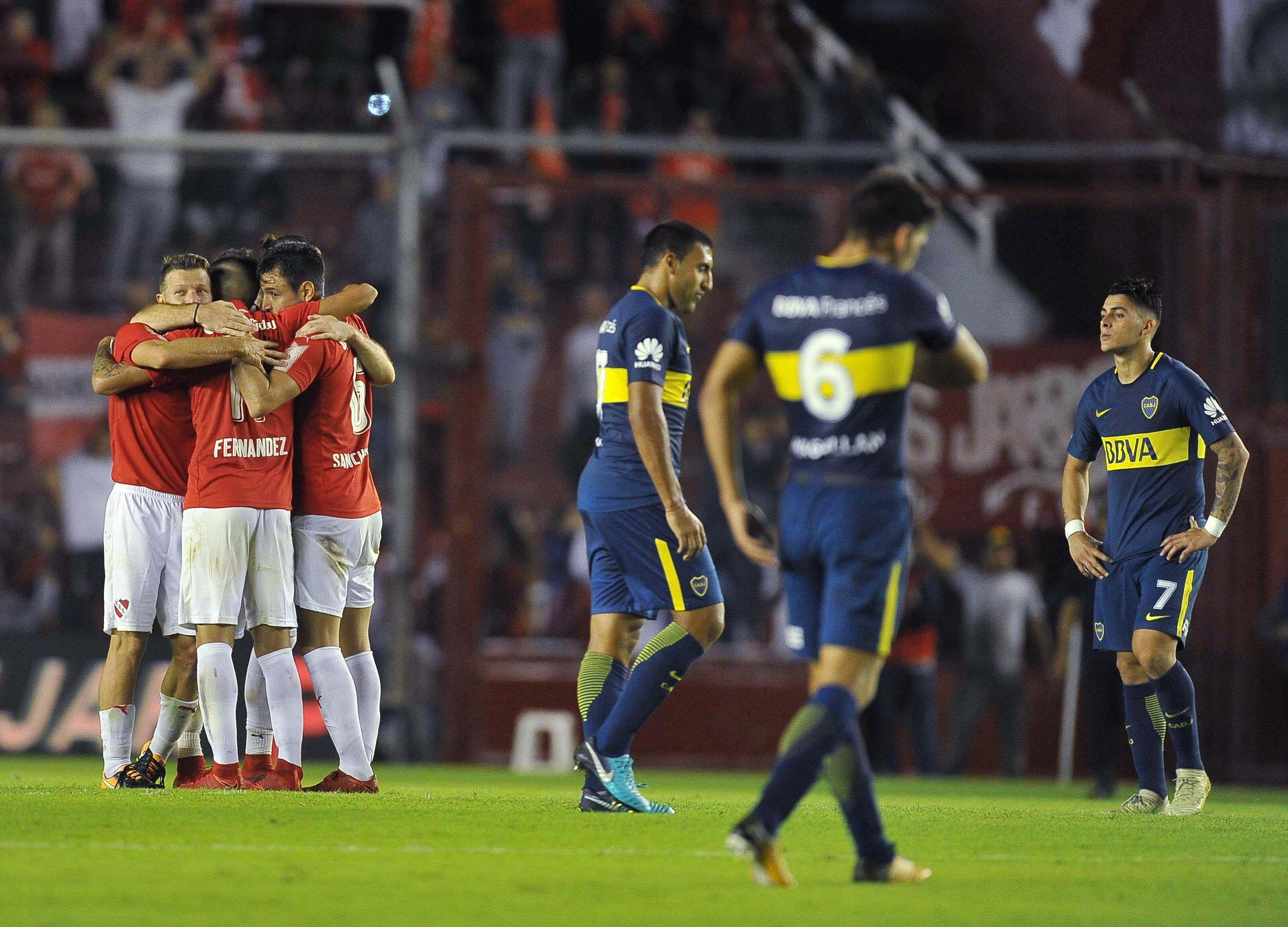 Independiente festeja y Boca sufre