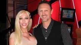 Agustina Brisel con David Kavlin