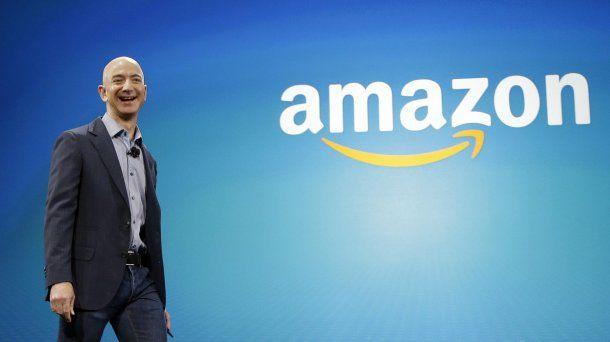 Jeff Bezos, CEO de Amazon<br>