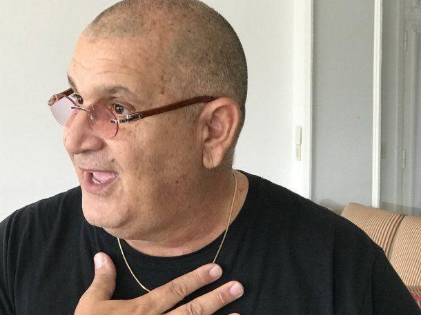 Hugo Marino promete encontrar el ARA San Juan - Crédito: @DaniMColu