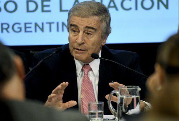 Oscar Aguad, ministro de Defensa<br>