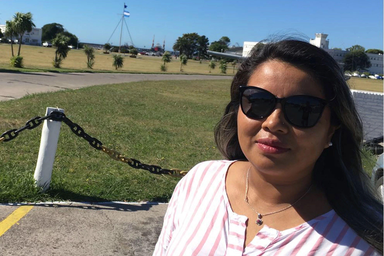 Ruth Gómez estaba embarazada de cuatro meses cuando desapareció el submarino