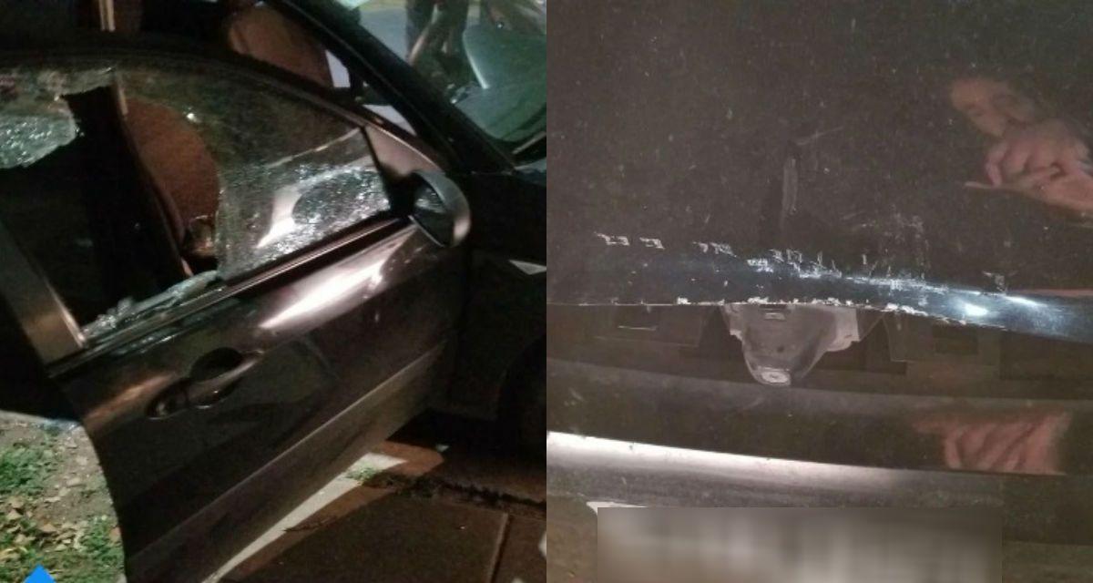 Destruyó un auto para apagar una alarma que no dejaba de sonar