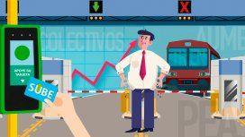 ¿Cuánto costaba viajar en colectivo, tren y subte en enero de 2018 y cuánto sale ahora?
