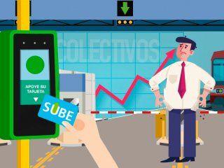 ¿cuanto costaba viajar en colectivo, tren y subte en enero y cuanto sale ahora?