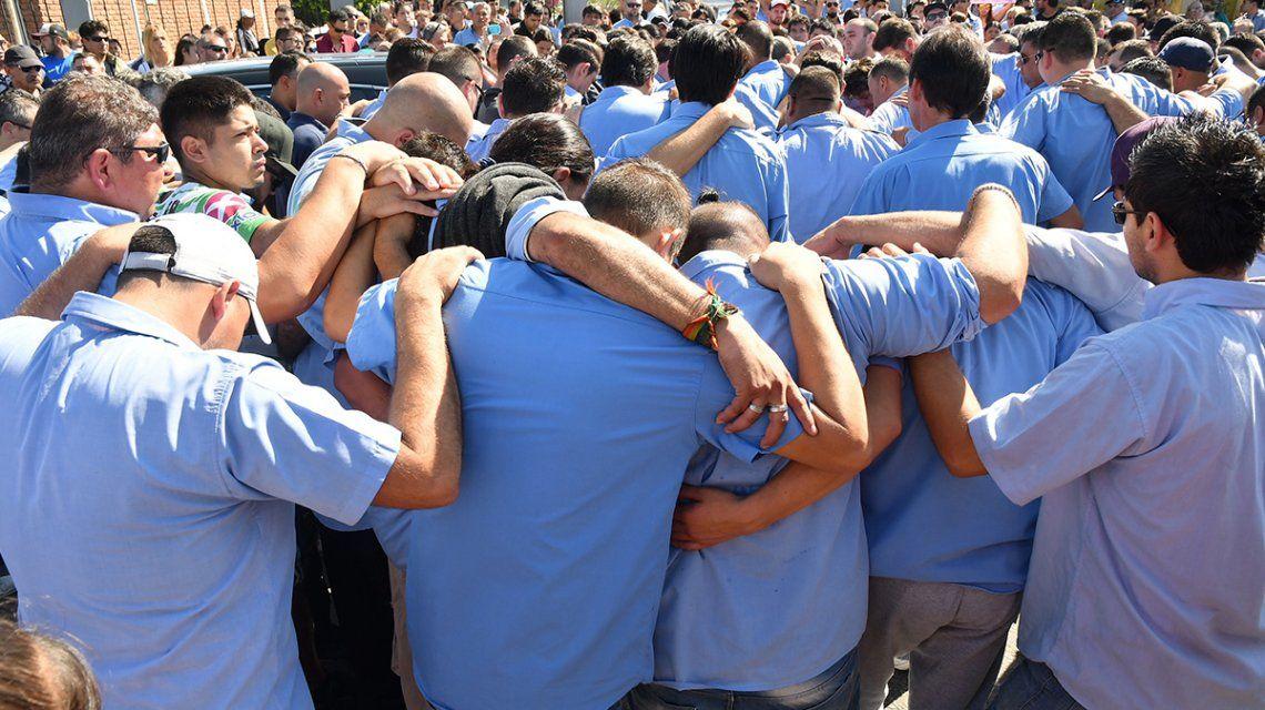 La Matanza: multitudinario último adiós al colectivero asesinado