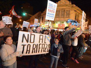 convocan a un ruidazo nacional contra el aumento de las tarifas