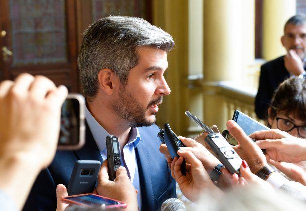 Marcos Peña, jefe de Gabinete de ministros<br>