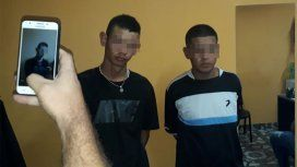 Los acusados por el crimen de Leandro Alcaraz.