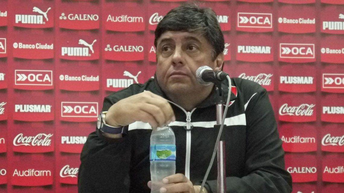 Fernando Berón es el coordinador de las inferiores de Independiente