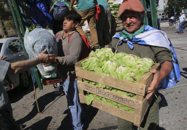 Hoy es el segundo día del verdurazo<br>