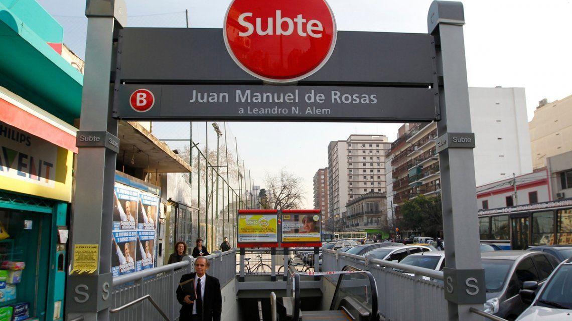 Estación Juan Manuel de Rosas
