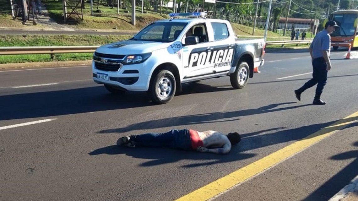 Raptó y violó a una nena de 6 años: al escapar, lo atropelló un camión