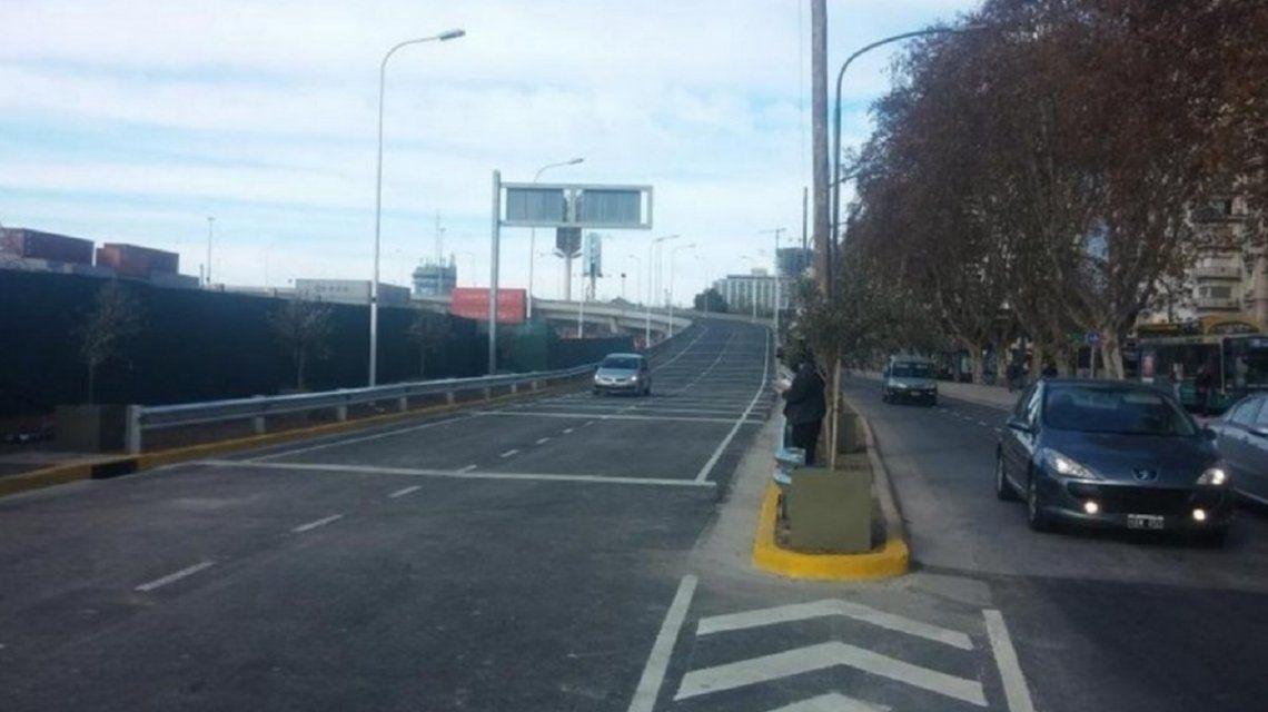 Posponen el cierre de la salida de la autopista Illia a Avenida del Libertador