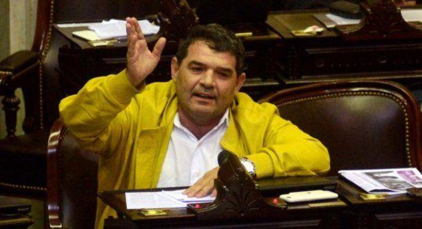 <p>El diputado Alfredo Olmedo </p>