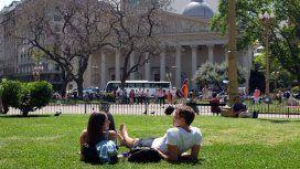 Después del calor se espera un fin de semana otoñal en la Ciudad