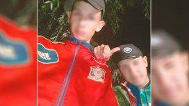 Los dos detenidos por el crimen de Leandro Alcaraz.