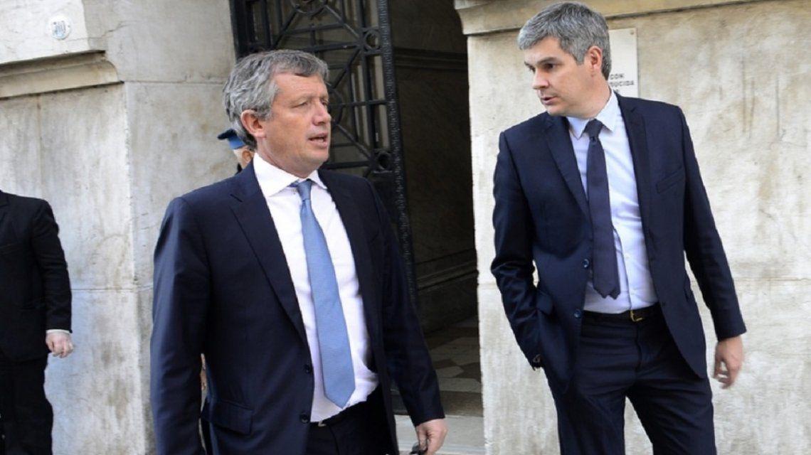 Emilio Monzó y Marcos Peña