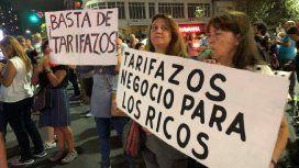 Ruidazo nacional contra los aumentos de tarifas y la inflación