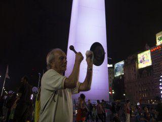 El Obelisco fue uno de los lugares más concurridos