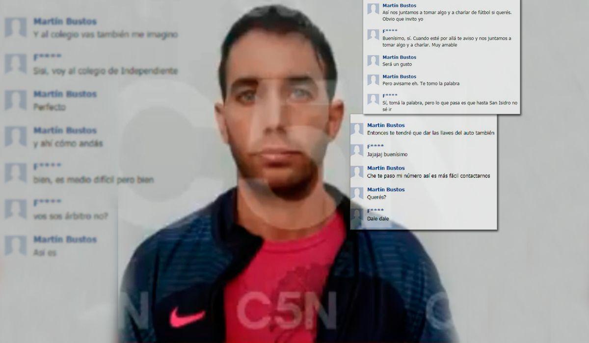 La prueba que complica a Martín Bustos: los chats entre el árbitro y un chico de Independiente