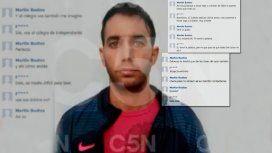 La prueba que complica a Bustos: los chats entre el árbitro y un chico de Independiente