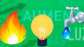 Presentaron un proyecto para retrotraer las tarifas de aguas, luz y gas a 2018 en todo el país