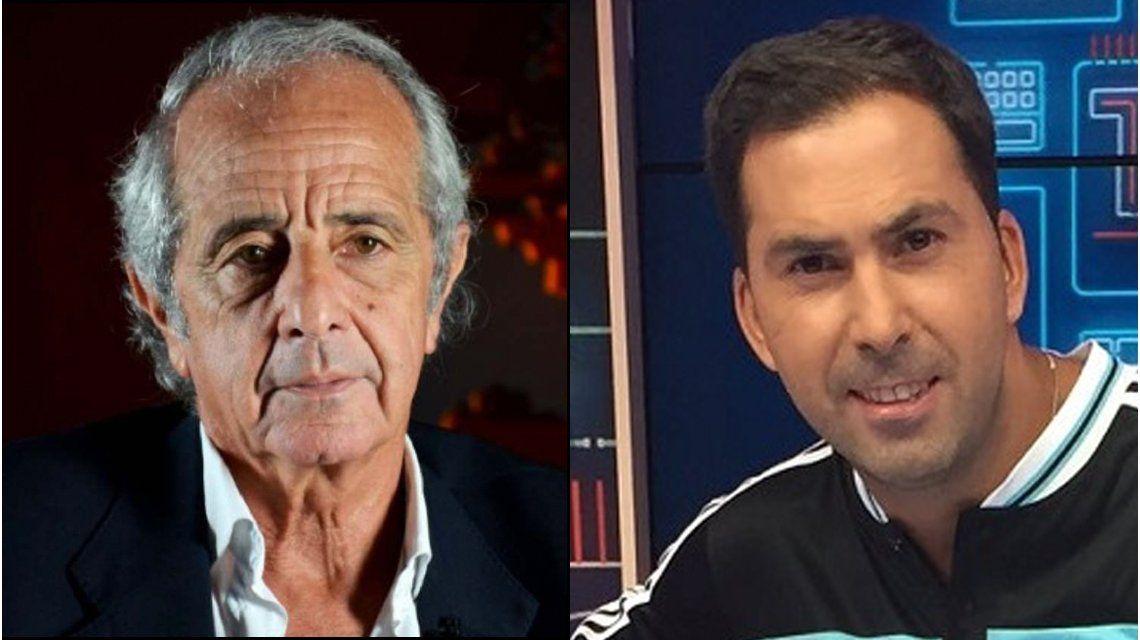 El presidente de River acusó al periodista de hablar a favor de Boca.
