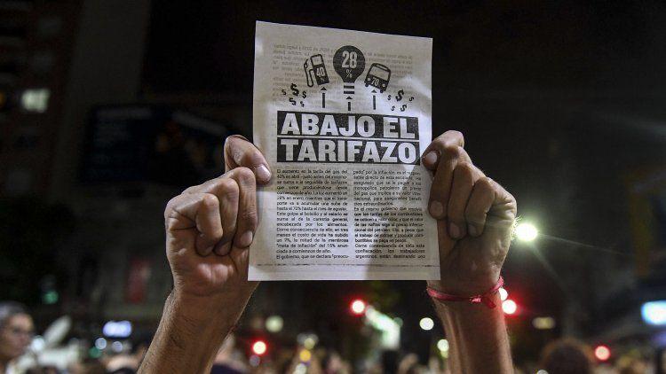 Convocan a un paro de luz contra los tarifazos para el próximo lunes