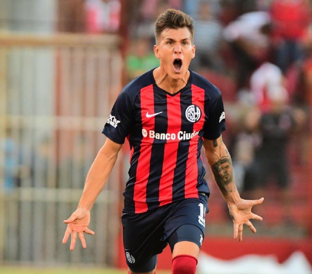 Nicolás Reniero en San Lorenzo - Crédito:@SanLorenzo