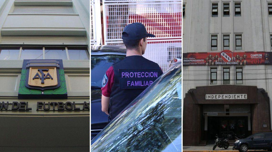 Un dirigente de AFA y nuevos allanamientos en River e Independiente: las claves en la causa por los abusos en el fútbol