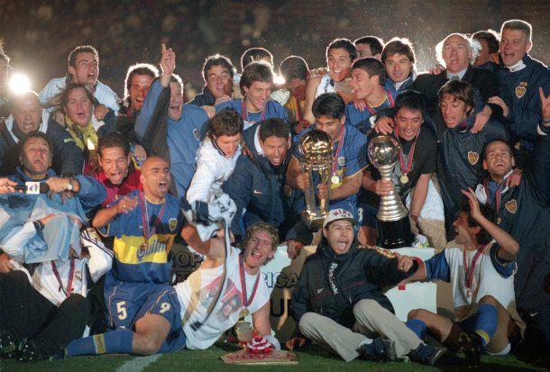 Serna fue parte importante del equipo de Boca que salió campeón del mundo en 2000<br>