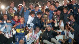 Serna fue parte importante del equipo de Boca que salió campeón del mundo en 2000